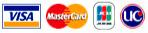 VISA,MasterCard,JCB,UC